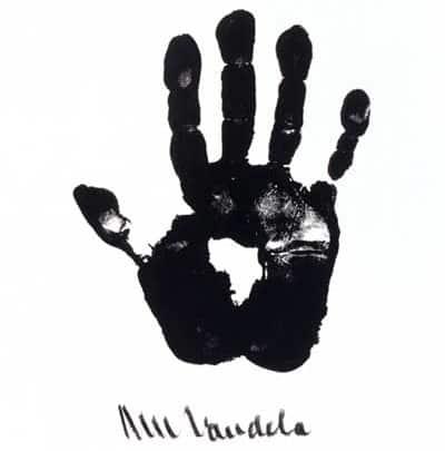 Mandela Hand of Africa