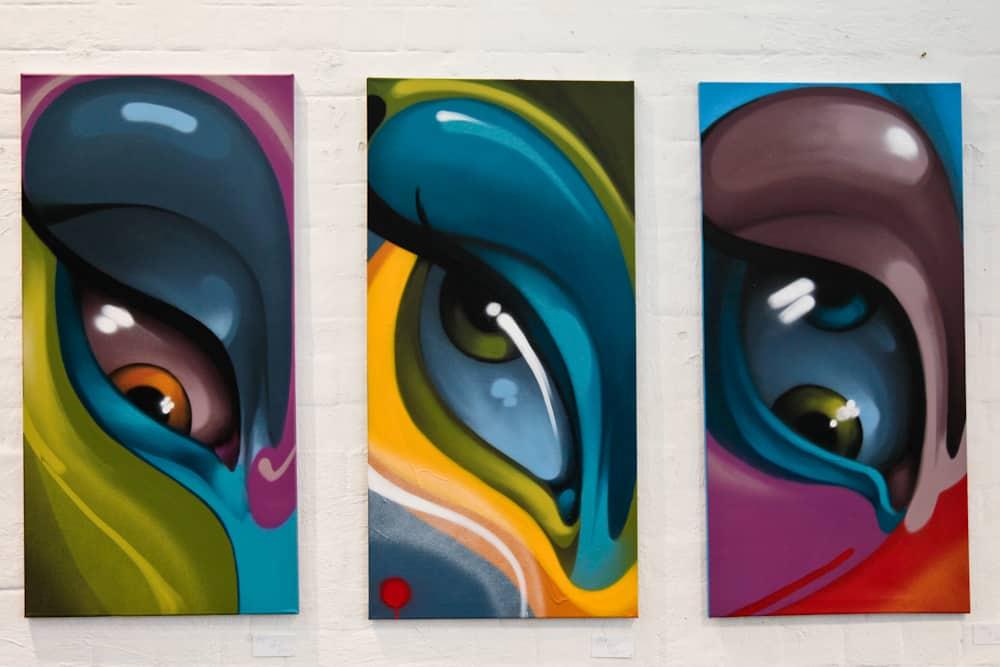stili dal lavoro della galleria delle strade 16