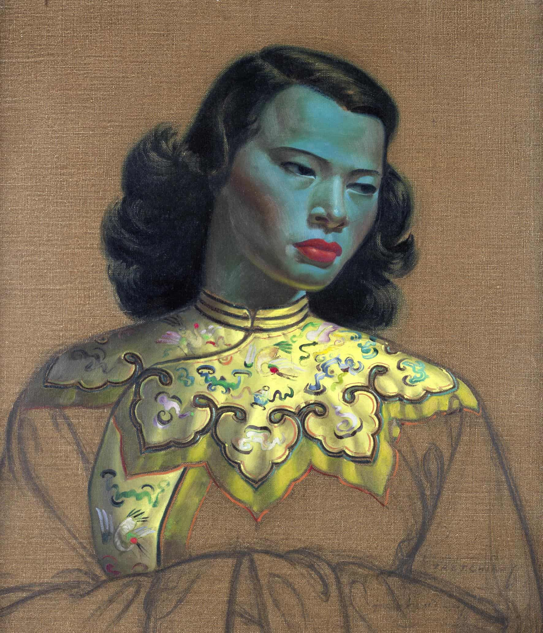 Chinese Girl 1952-53 print published in 1956 No 3 bestselling print of 1958-602