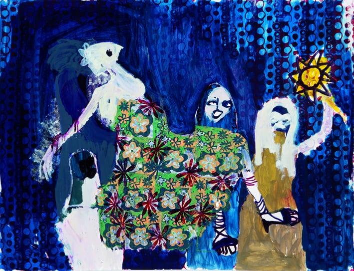 TauyaNaye 2013 Oil basedprintinginkonpaper 115x150cm