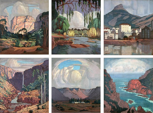 Collage de Pierneef