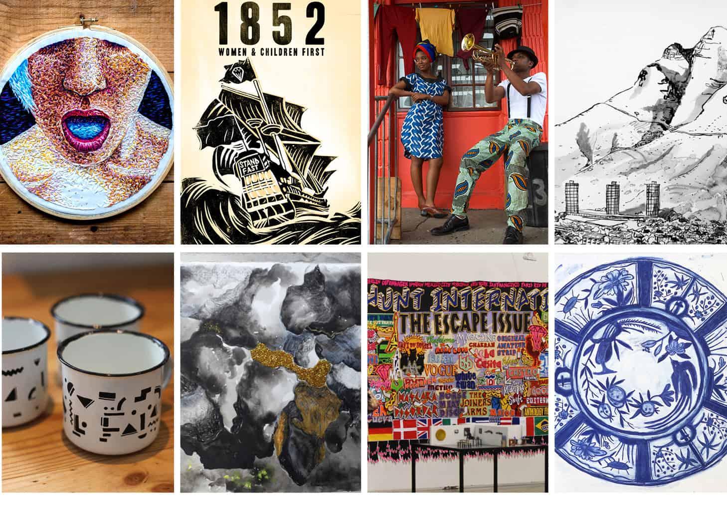 inAWE Residency Artworks NL