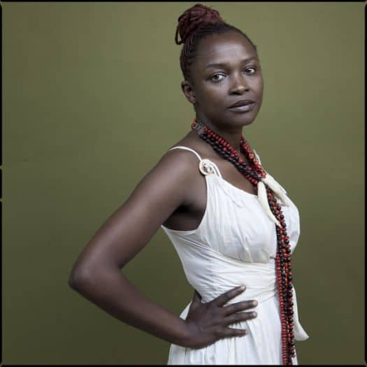 Koyo Kouoh, the Executive Director and Chief Curator of Zeitz MOCAA. Image from the ART AFRICA archive (2014).
