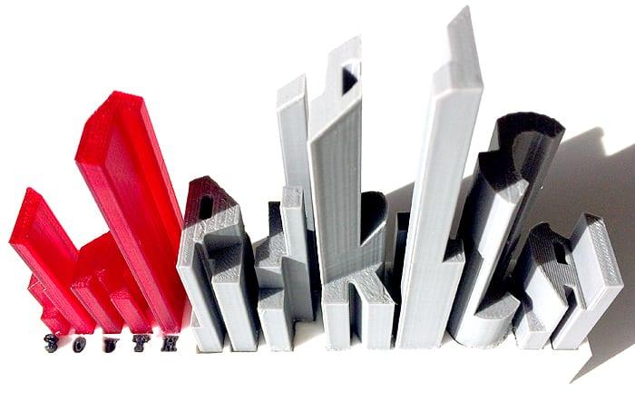 ARTsouthAFRICA 3D Printed Logo