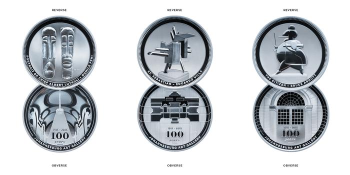 Medaillen x3