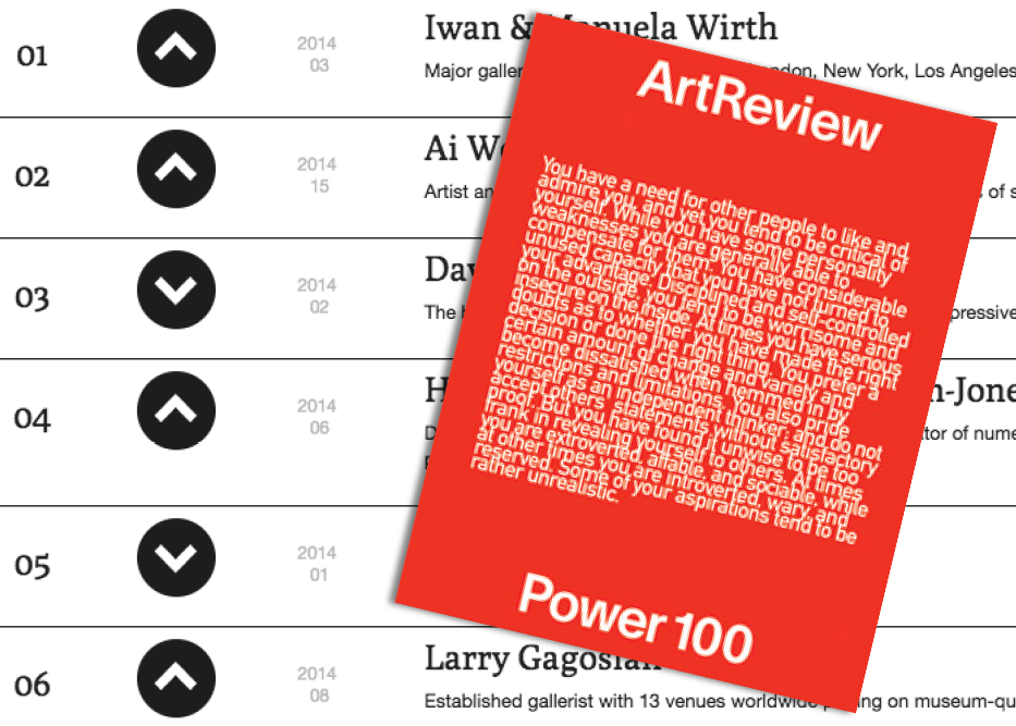 ArtReviewPower100 WEB