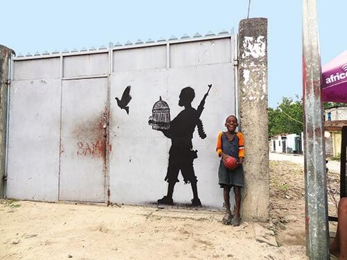 Peace-unleashed Goin 2014 Matonge-Kinshasa-RD-Congo