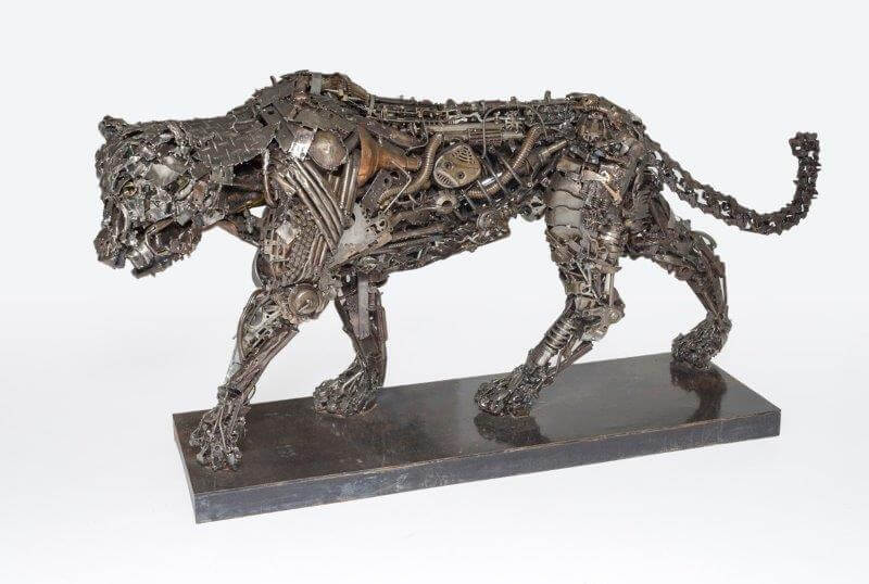 Hand Made Original Wire Animal Sculptures from Africa