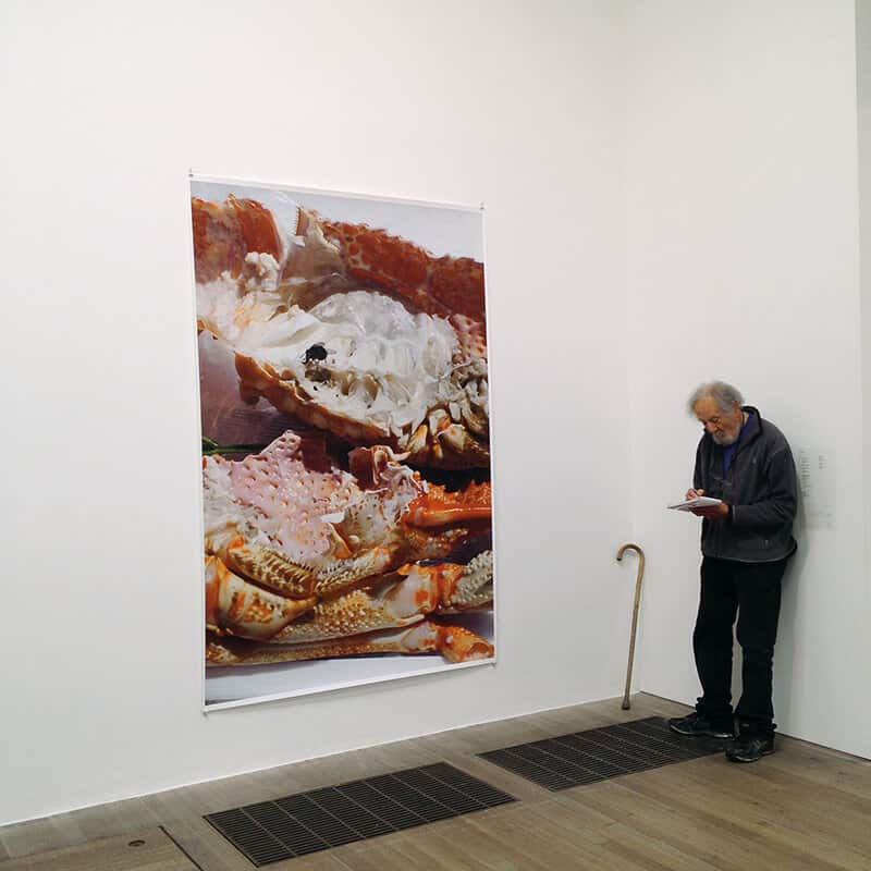 Installation view of 'Wolfgang Tillmans: 2017' at the Tate Modern. © Tayla Withers, image courtesy of the photographer.