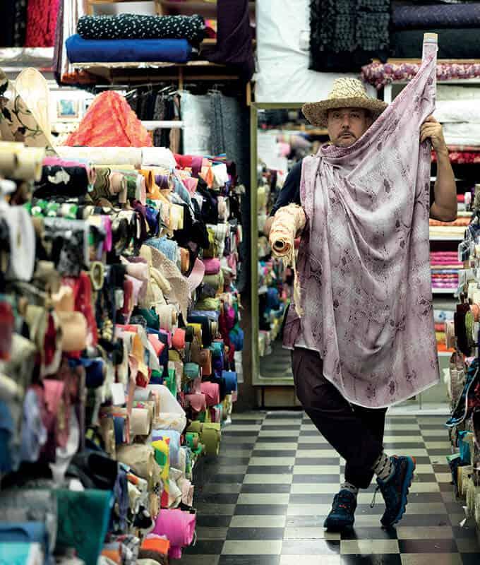 Stefan Simchowitz. Fabric store. Los Angeles, CA. © Stefan Simchowitz.