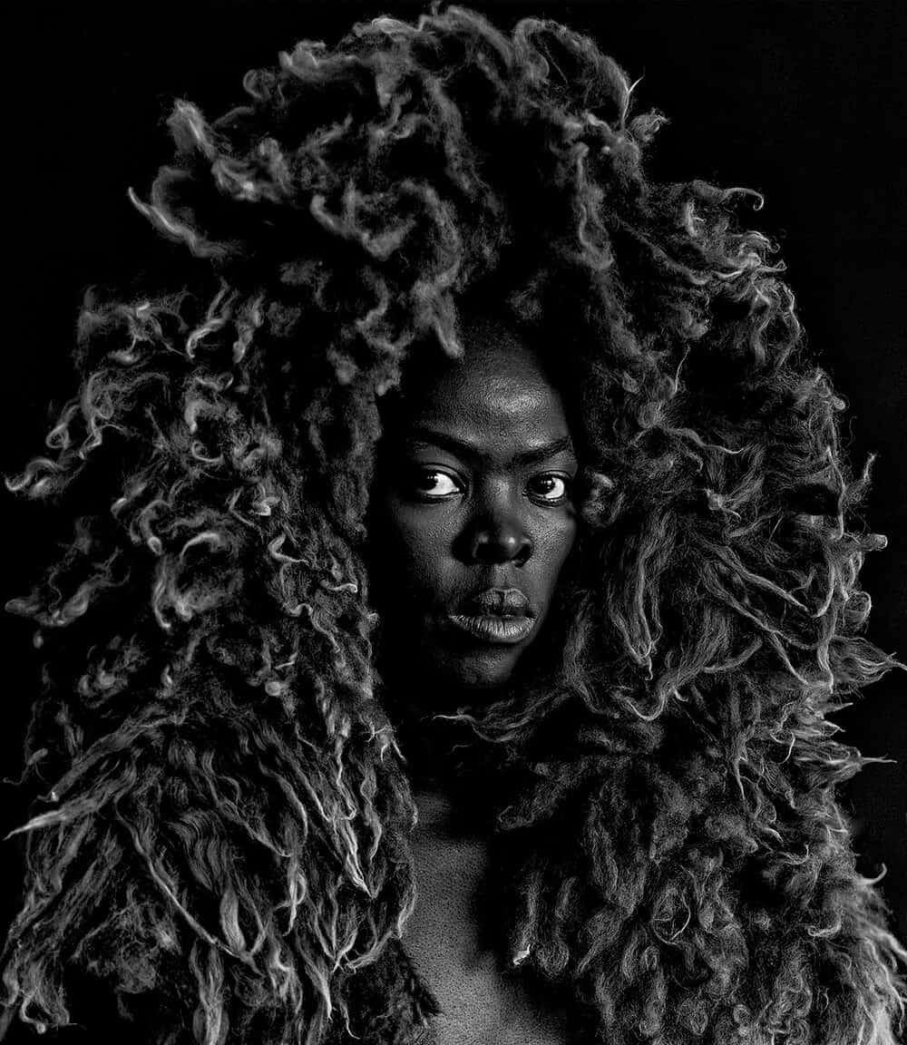 Somnyama Ngonyama II, Oslo, 2015. © Zanele Muholi. Courtesy of Stevenson, Cape Town/Johannesburg and Yancey Richardson, New York