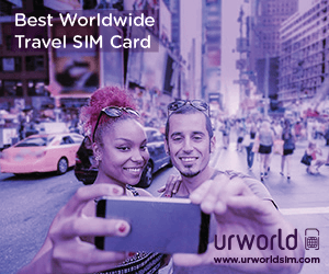 Ur World - Worldwide Travel SIM Card