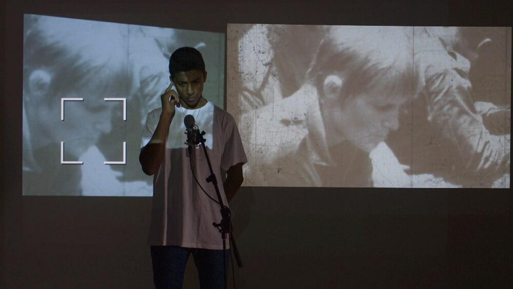Filipa César, Übertragung aus den befreiten Zonen, 2015. Video noch. Mit freundlicher Genehmigung von Videobrasil.