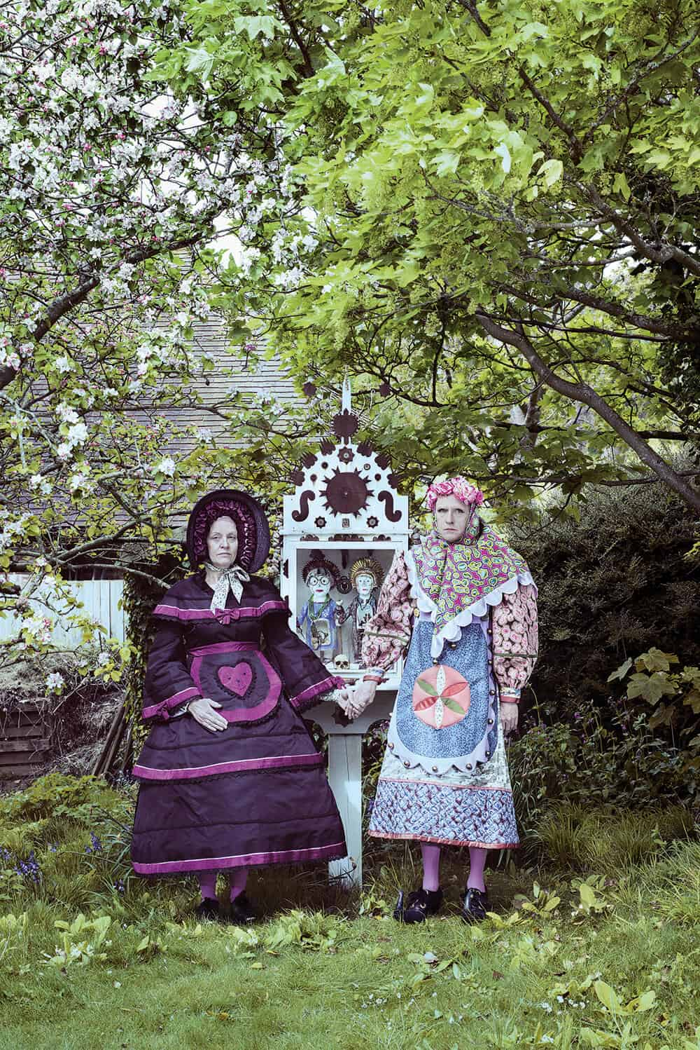 Grayson Perry, Couple visiting Marriage Shrine, 2017. C-type print, 75 x 50 cm. © Grayson Perry. Image courtesy of the artist and Victoria Miro, London.