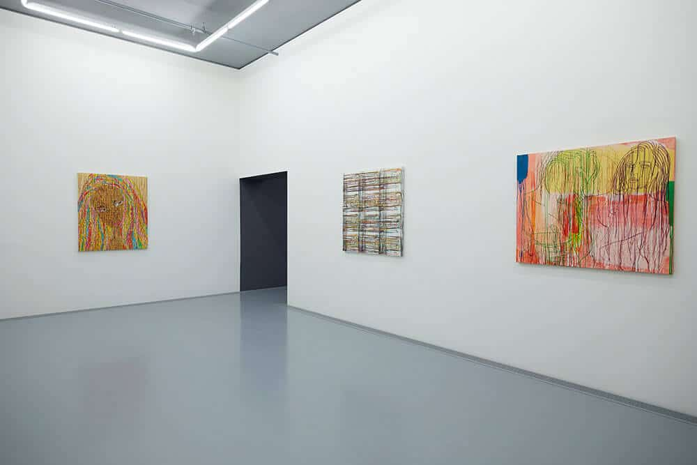Ghada Amer Exhibition space at Zeitz MOCAA. Courtesy of Zeitz Museum of Contemporary African Art.