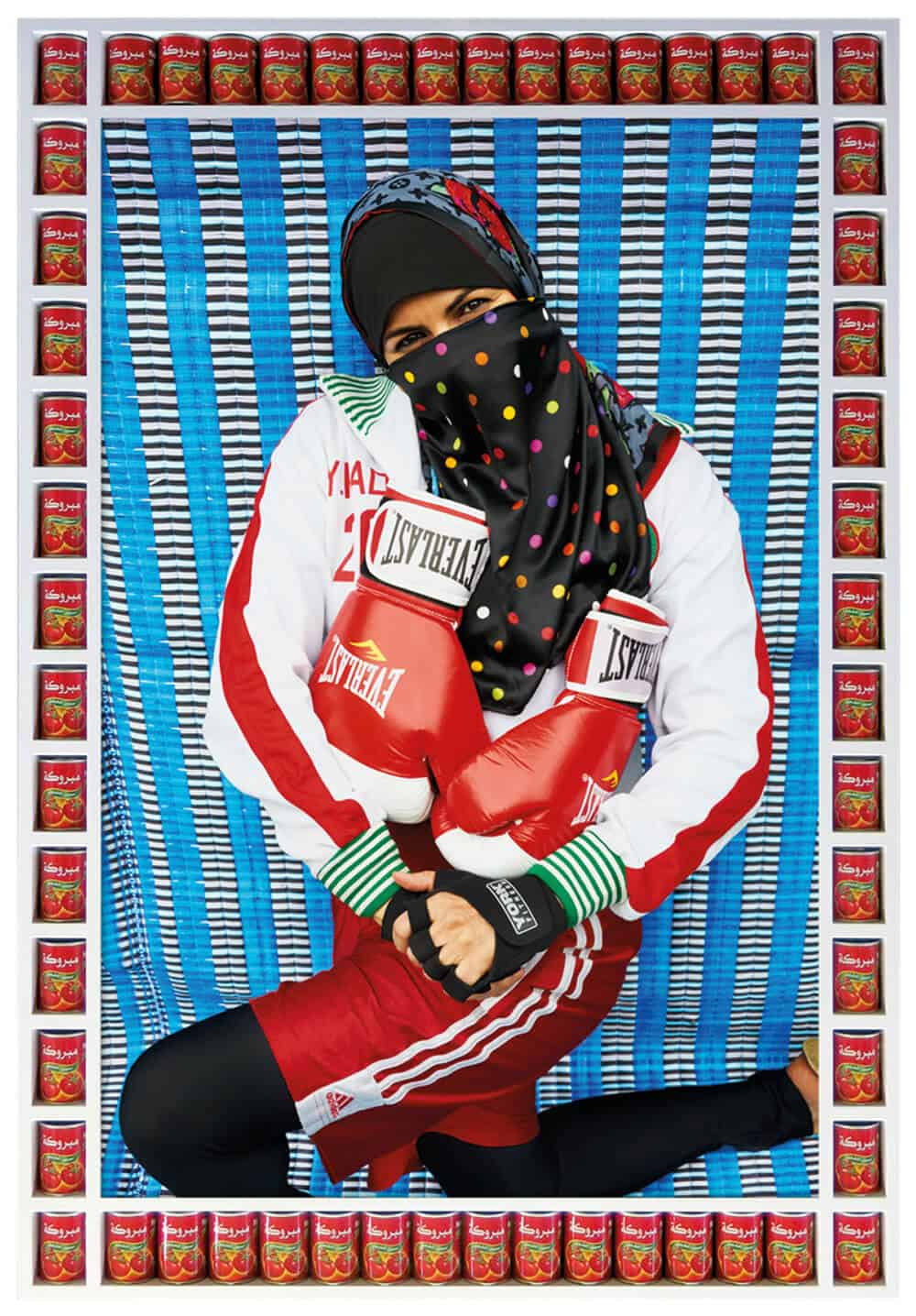 Hassan Hajjaj, Pose, 2011. Edition of 10. Courtesy of the Third Line.