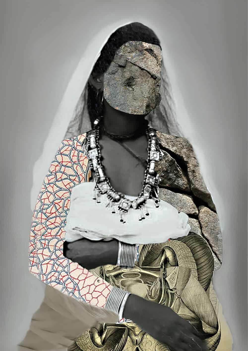 Lola Keyezua - Stone Orgasms - 2015 - #2 - 80cmx120cm
