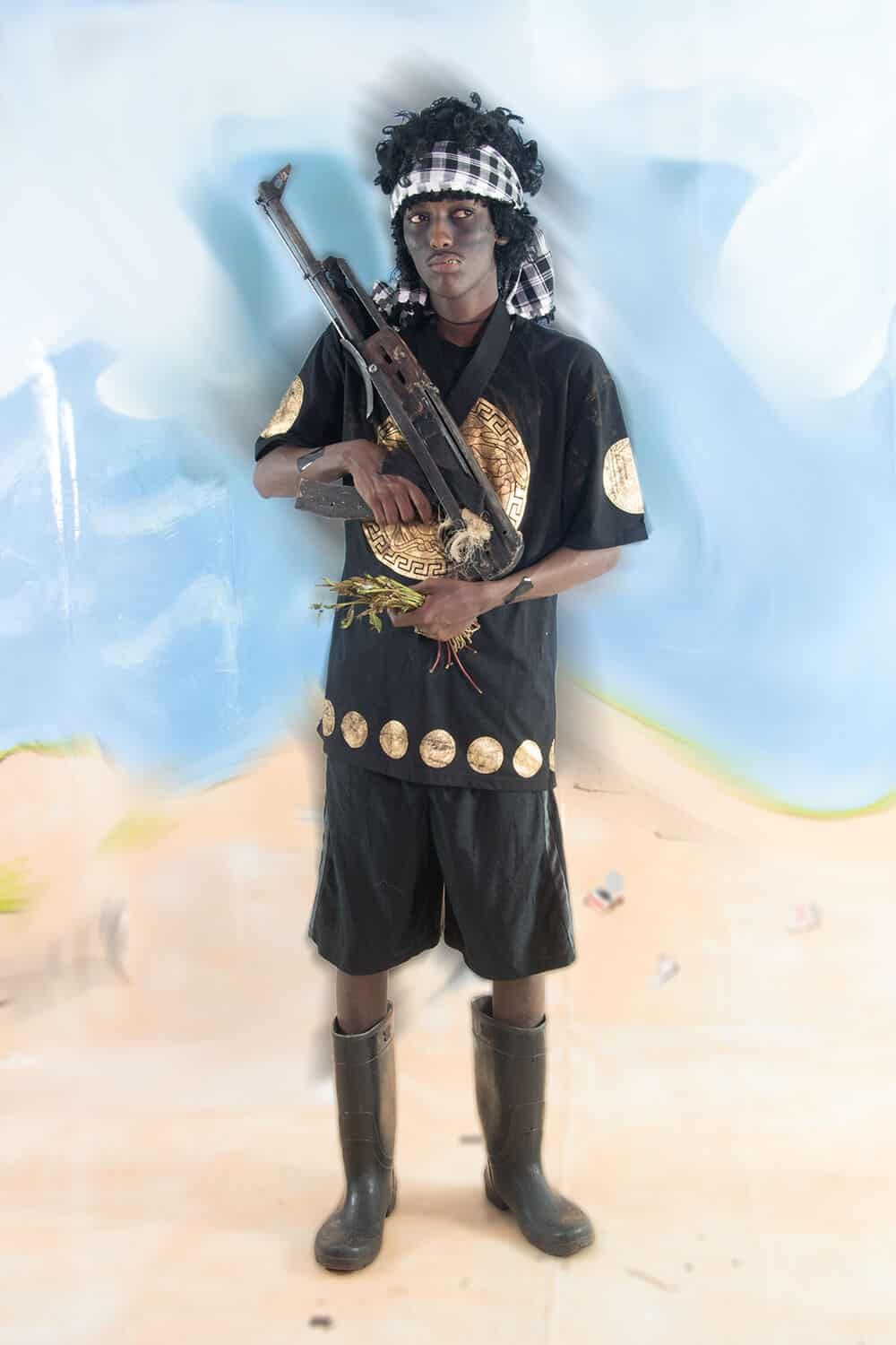 Jan Hoek, The Real Somali Pirates -Ahmali. Courtesy of the artist.