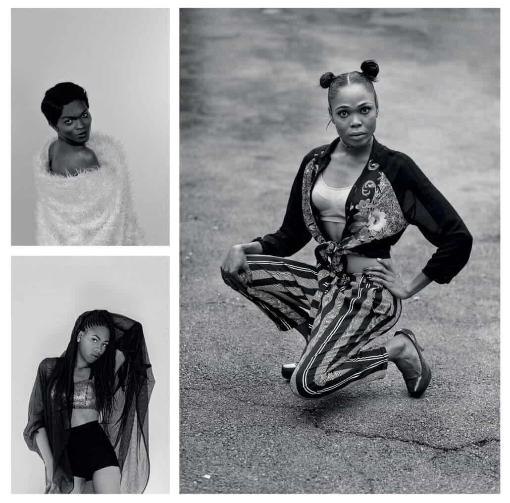 Zanele Muholi, Yaya Mavundla II, Parktown, Johannesburg, 2017. Progress Selota II, Pretoria, 2017. Miss Tee Menu, Daveyton, Johannesburg, 2017. © Zanele Muholi. All images are from the series Brave Beauties. Images courtesy of Stevenson, Cape Town/Johannesburg.