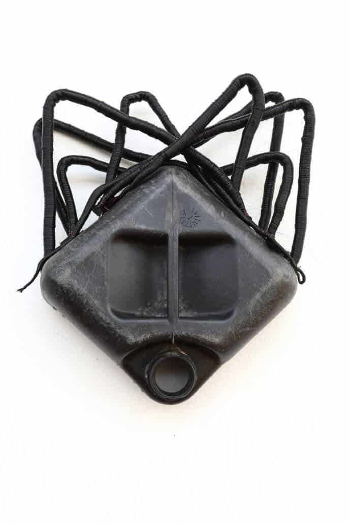 Romuald Hazoumè, Ma Poule, 2013. Found objects, 46 x 42 x 12cm. Courtesy of the Serge DeLeon Foundation.
