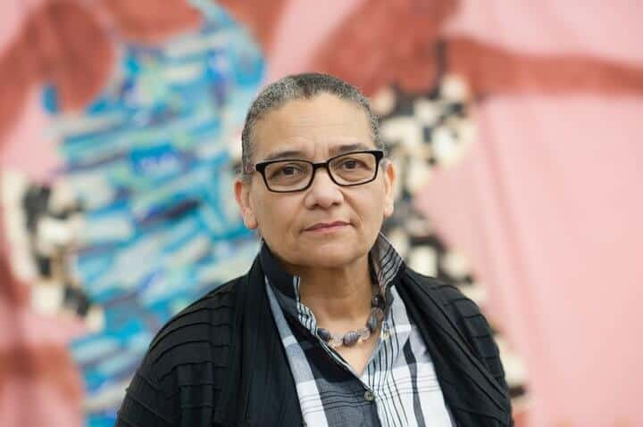 Lubaina Himid Courtesy of the artist and Hollybush Gardens Photo: Edmund Blok for Modern Art Oxford