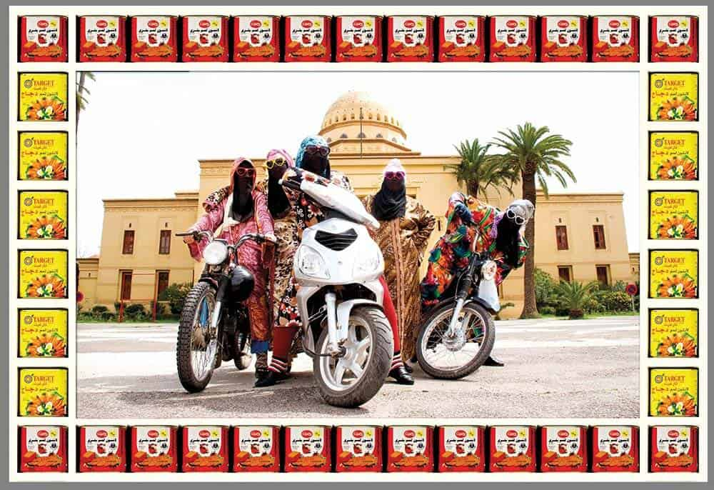 Hassan Hajjaj, Kesh Angels. © Hassan Hajjaj. Courtesy of the artist and Vigo Gallery.