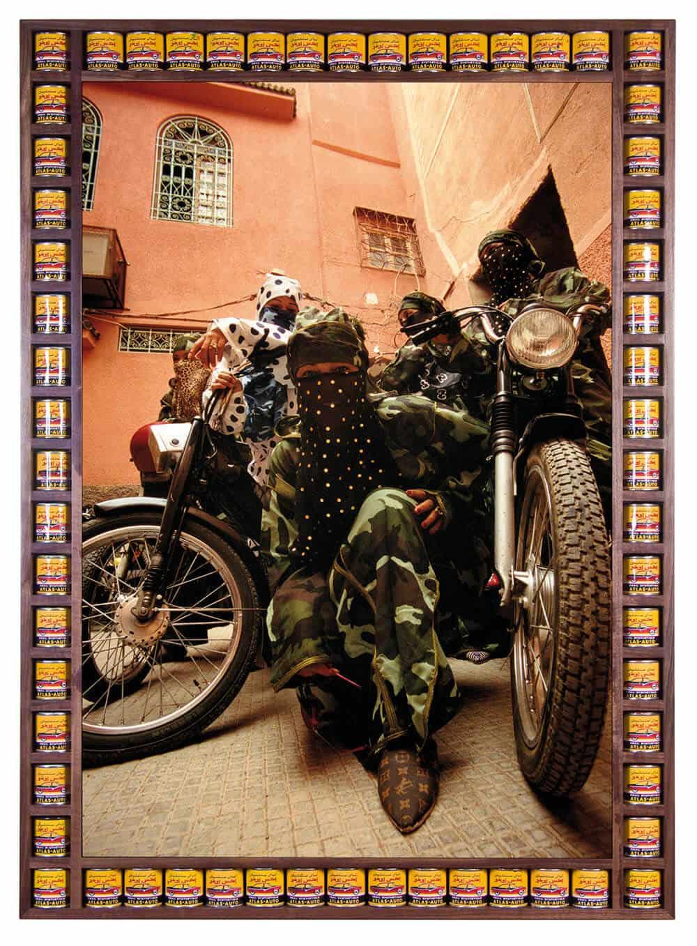 Hassan Hajjaj, Gang Of Marrakesh. © Hassan Hajjaj. Courtesy of the artist and Vigo Gallery.