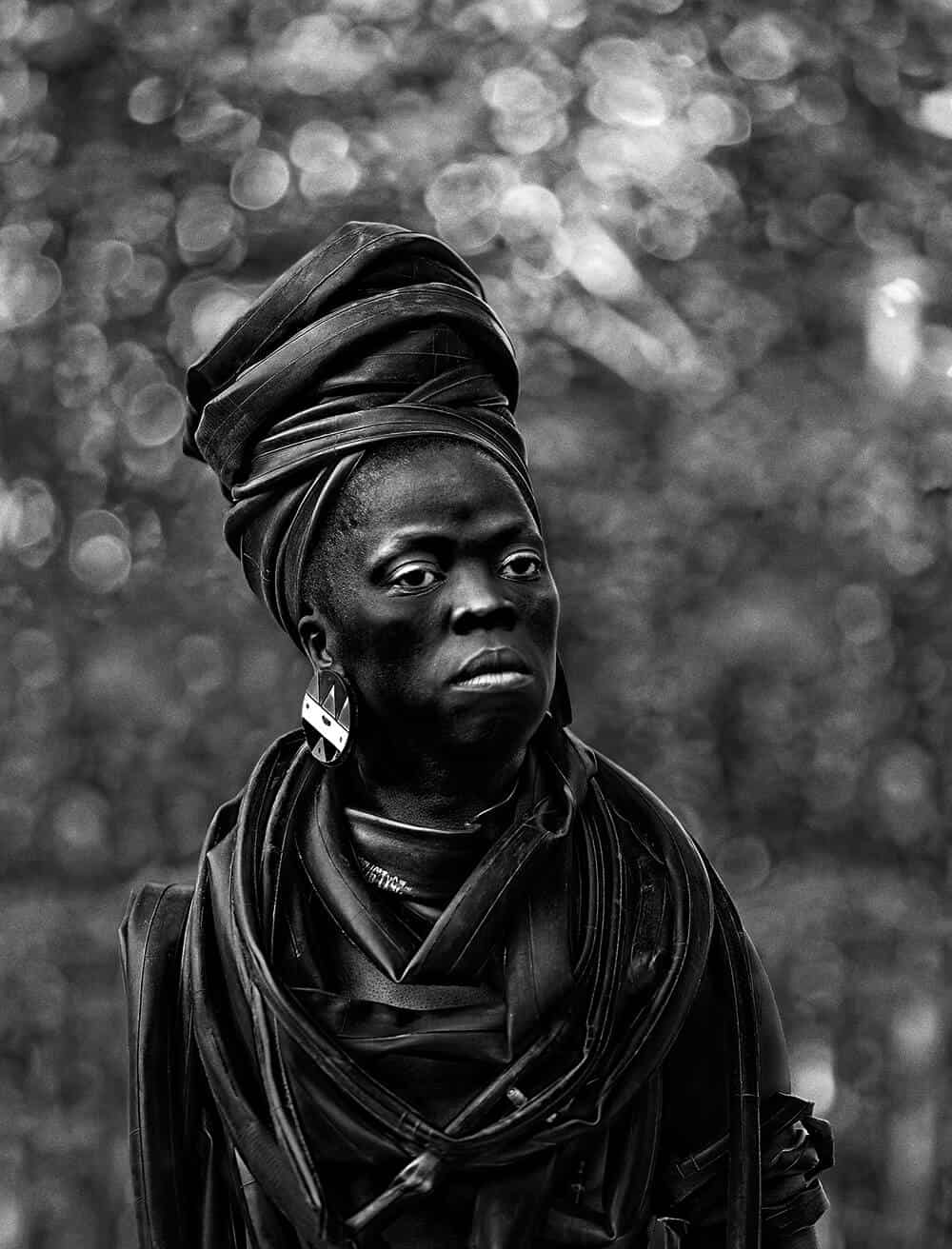 Zanele Muholi, Basizeni XI from Somnyama Ngonyama, Cassilhaus, North Carolina, 2016. © Zanele Muholi. Courtesy of the artist.