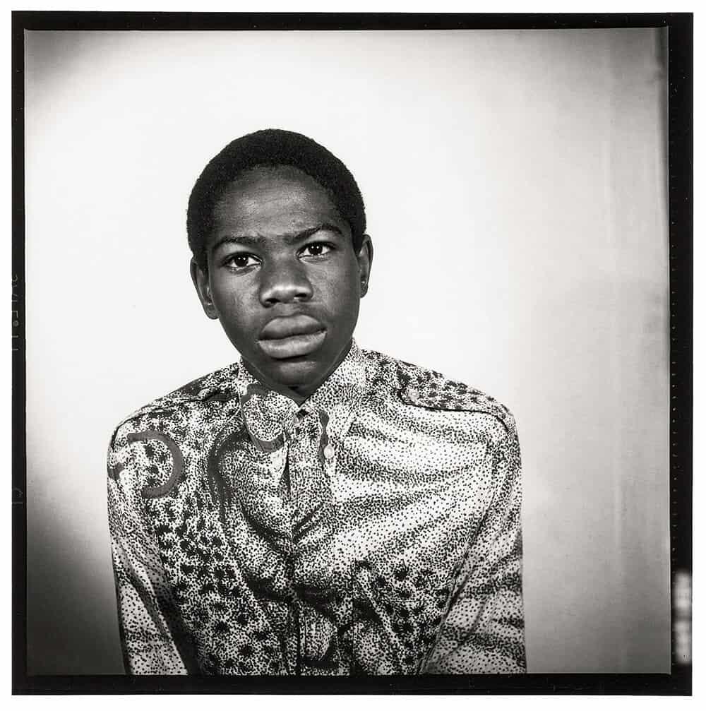 Malick Sidibé, c. 1972. Gelatin silver print, 120 x 120 cm. © Malick Sidibé.