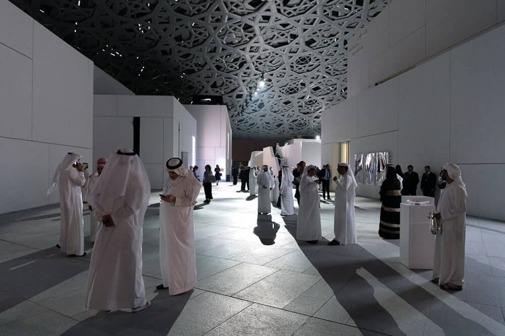 Inauguration of Louvre Abu Dhabi on November 8, 2017. © Luc Castel