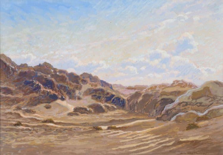 Lot 403 Johannes Blatt Namib Landscape R 6 000 - 8 000