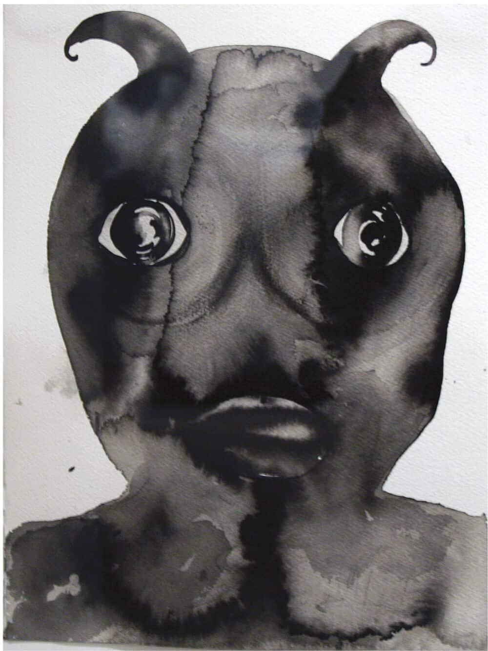 Barthélémy Togo, Devil Head No 2. ©Adagp, Paris. Images courtesy of Mario Mauroner Gallery, Vienna.