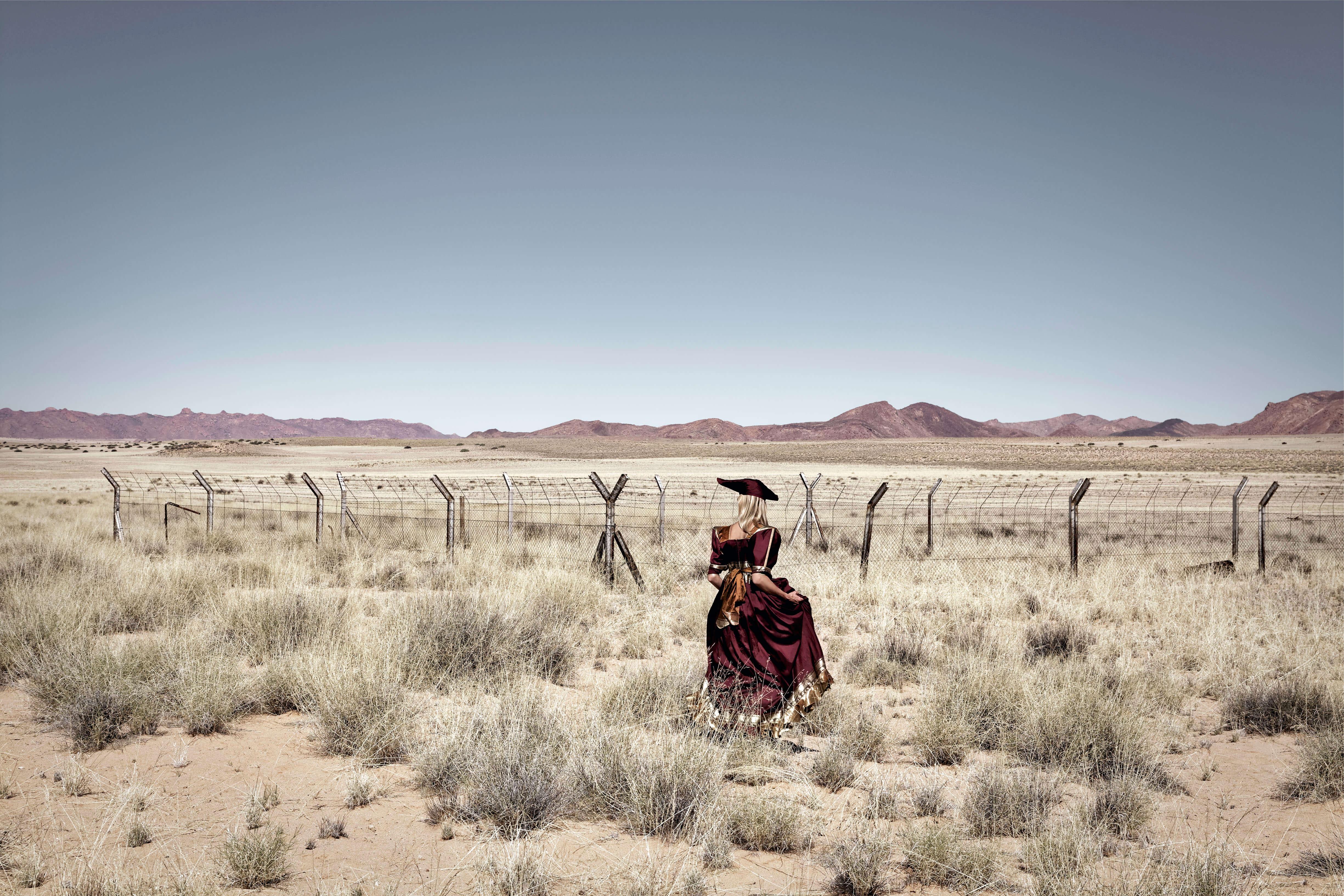 Nicola Brandt, The Return, En route to !Nami≠nüs/Lüderitz, Namibia (2012), Digital Pigment Print, 73 x 100cm (paper size); 60 x 90cm (photo size), Edition of 3 + 2AP.