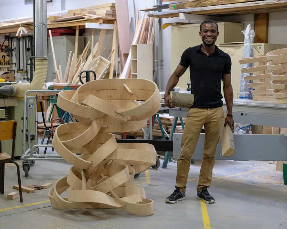 Diplome 9 Atelier de travail, Beaux Arts de Paris, Photo by Peter Houston