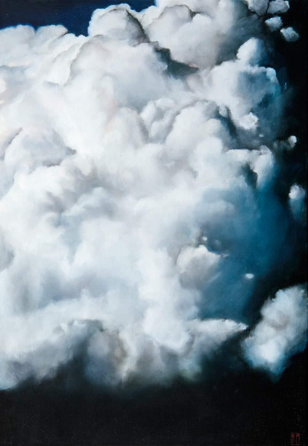 Robyn Penn, Nach dem Scheitern von Ideals I, 2018. Öl auf Leinwand. Mit freundlicher Genehmigung des Künstlers & Barnard.