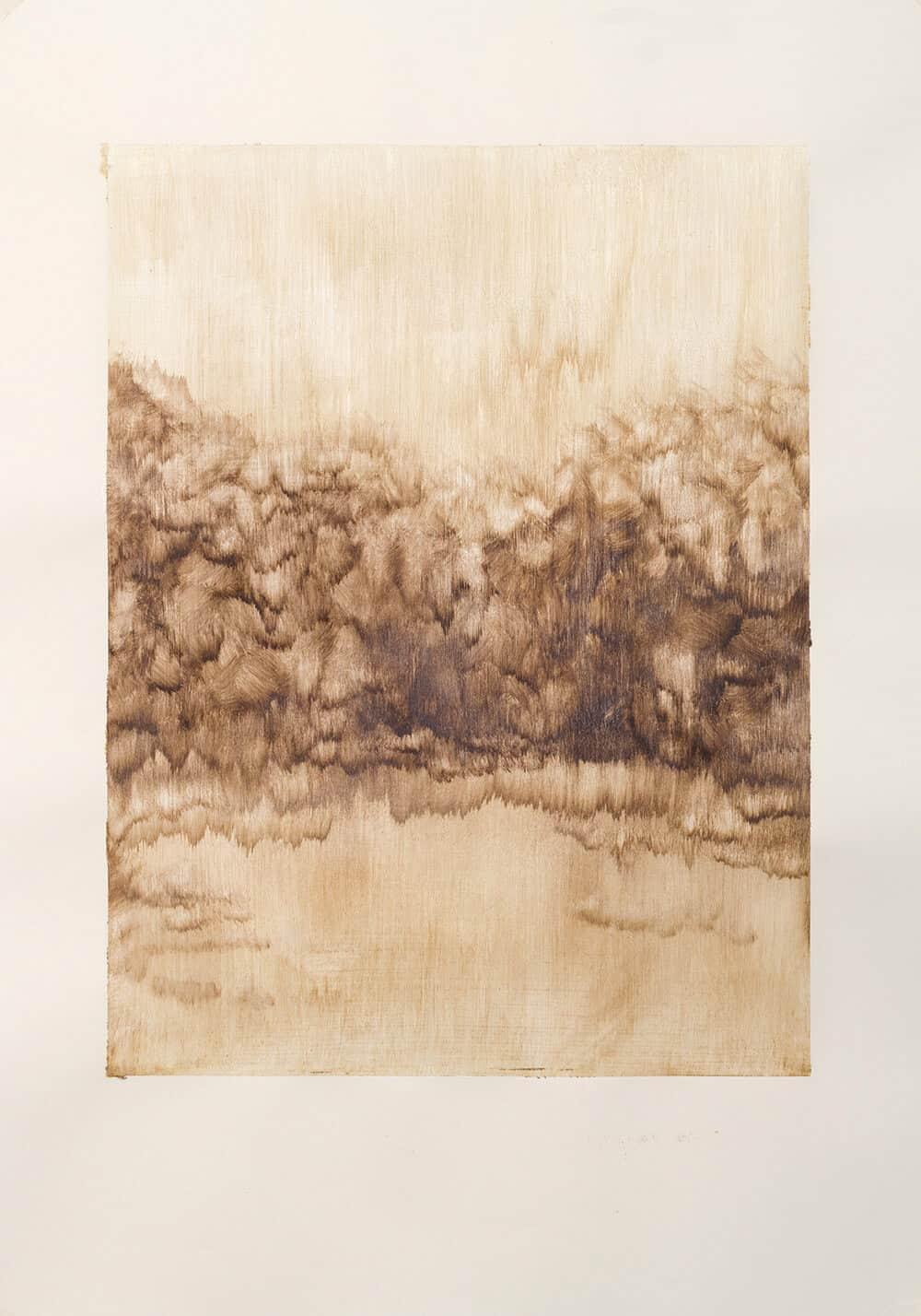 Zarah Cassim, So Familiar II, 2018. Oil on Paper. 600x420mm. Unframed size.