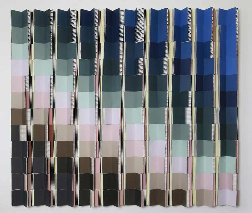 Lina Ben Rejeb, Tel Quel #3, mixed media. Courtesy of the artist & Selma Feriani Gallery.