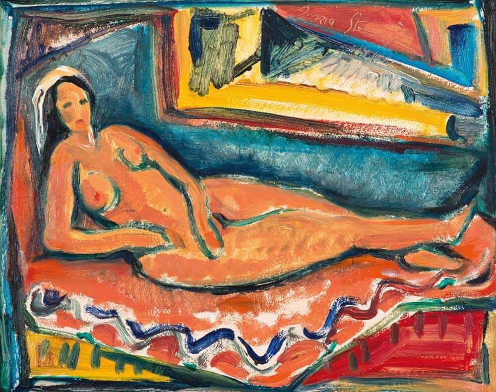 Lot 549 Irma Stern Reclining Nude Sold R1 136 800