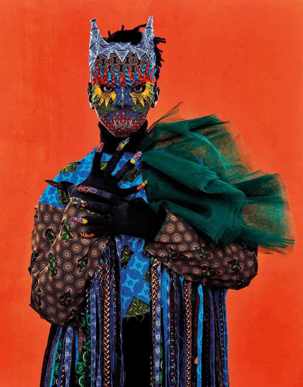Ritratto di Siwa Mgoboza di Gerda Genis. Courtsey della Semaphore Gallery.