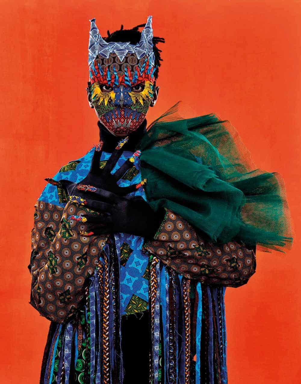 Portrait of Siwa Mgoboza by Gerda Genis. Courtsey of Semaphore Gallery.