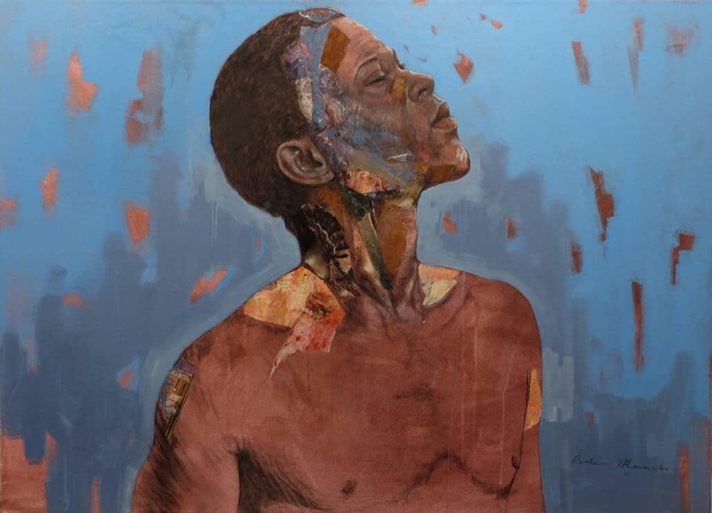 Restone Maambo, Mwembezi. Courtesy of the artist & ODA Gallery.