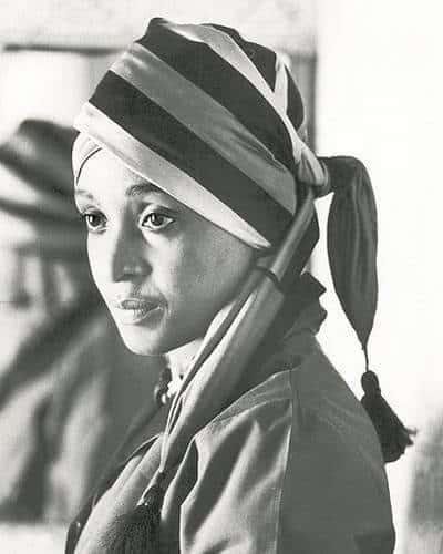 Portait of a young Winnie Madikizela Mandela