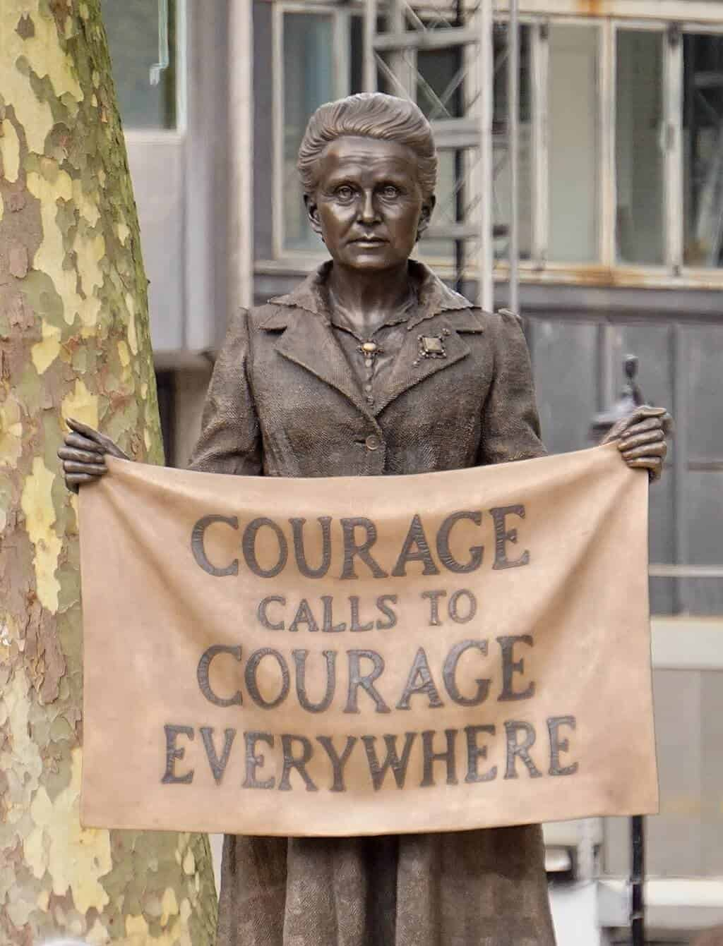 """The statue - unveiled at last"", Millicent Fawcett statue unveiled, 2018. Photographer: Garry Knight. Courtesy of Wikimedia Commons."