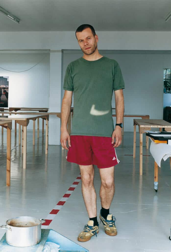 Wolfgang Tillermans, August Self Portrait, 2005.