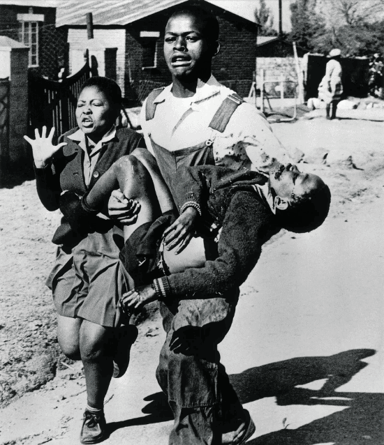 Sam Nzima Hector Pieterson, 1976.