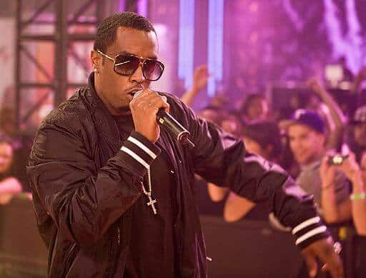 Diddy performing at the eTalk Festival Party, during the Toronto International Film Festival. 5 September 2008. Photographer: Richard Burdett. Courtesy of Wikimedia Commons.