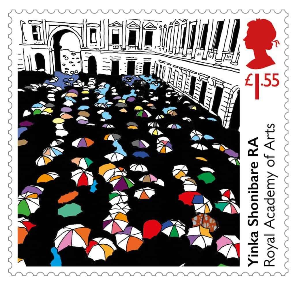Royal Academy Yinka Shonibare stamp