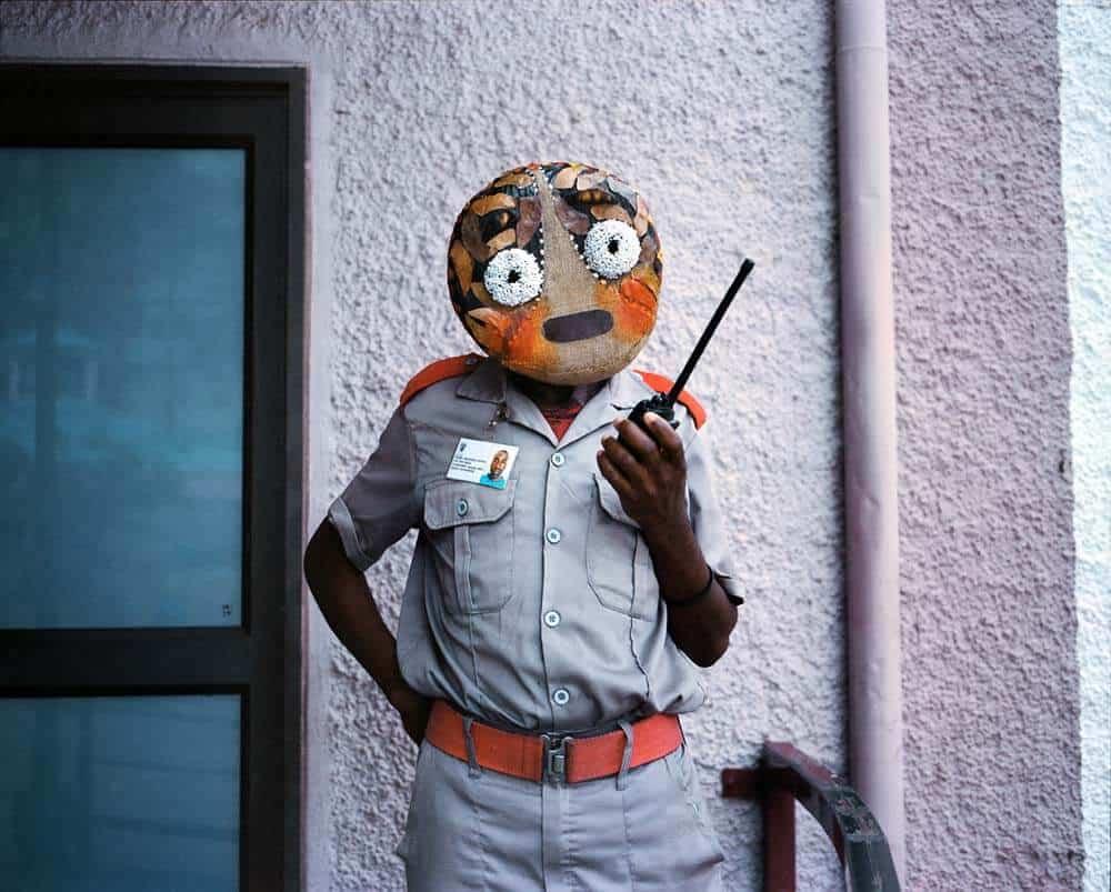 Toufic Beyhum, Amoji Mask Embarressed, 2017 - 2018. © Toufic Beyhum