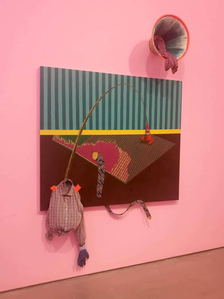 Simphiwe Ndzube, The Stroller, 2017. Installation view at Cc Foundation Art Centre, Shanghai.