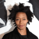 Portrait of Kara Walker; photo: Ari Marcopoulos. Courtesy of SFMOMA https://www.sfmoma.org/event/2018-cva-kara-walker/